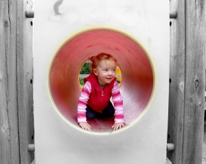 Andy took this one at a playground in Victoria this summer (Hi Andy!)