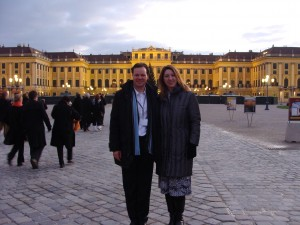 Markus and I at the Schönbrunn