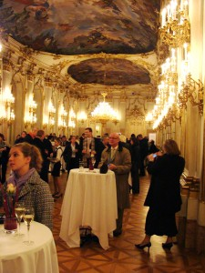 Ballroom at the Schönbrunn