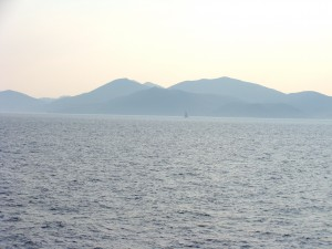 Elba, as seen from the ferry