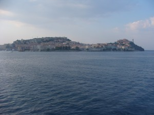 Elba from the ferry
