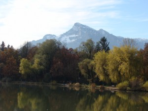One of the mountains that the real von Trapps didn't cross on foot.